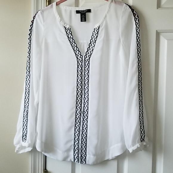 White House Black Market Tops - WHBM blouse.  Sz 00P